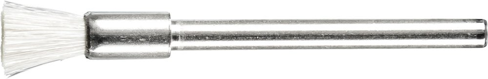 PFERD 83281 Stem Mounted Miniature Wire End Brush, 3/16'' Diameter, 1/8'' Stem Diameter, 25000 Max RPM (Pack of 36)