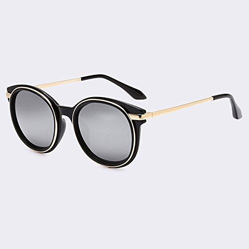 C06 lentes piernas para moda las fuzzy gafas en femeninas Gafas oval espejo C02 TIANLIANG04 aleación de classic URxxw