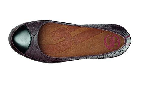 FitFlop Due - Zapatos para mujer (Chocolate) Marrón, talla 36,5