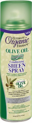 - Ultimate Organic Therapy Olive Oil Luminous Conditioning Sheen Spray 11.5 Oz