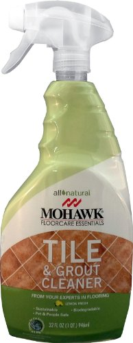 Floor Mohawk (Mohawk FloorCare Essentials Tile and Grout Cleaner Spray All Natural Lemon Fresh Aroma 32oz)