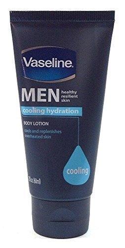 Vaseline Men Healthy Resilient Skin Cooling Hydration Travel Size Body Lotion 2 Oz Each Bulk (6 Pack)