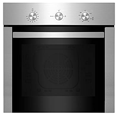 """Empava 24"""" Stainless Steel Built-in NG/LPG Convertible Broil/Rotisserie Function Under Counter Gas Single Wall Ovens EMPV-24WOD04-LTL"""
