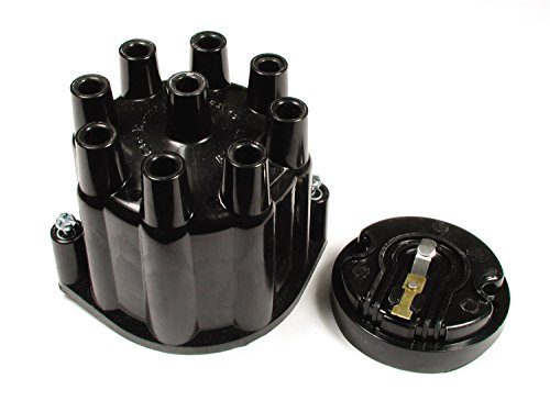 ACCEL 8124ACC Heavy Duty Distributor Cap and Rotor Kit - Black ()