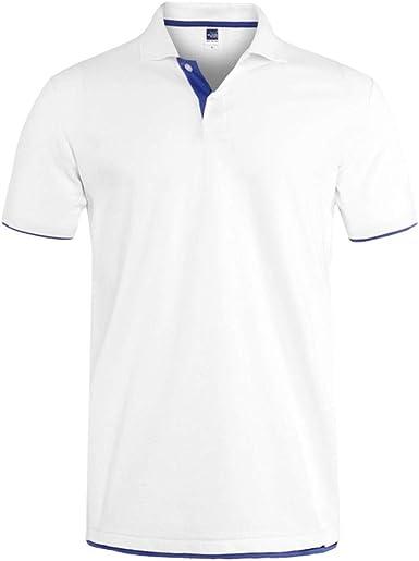 MTCDBD Camiseta Polo De Manga Corta para Hombre,Polo De Tenis ...
