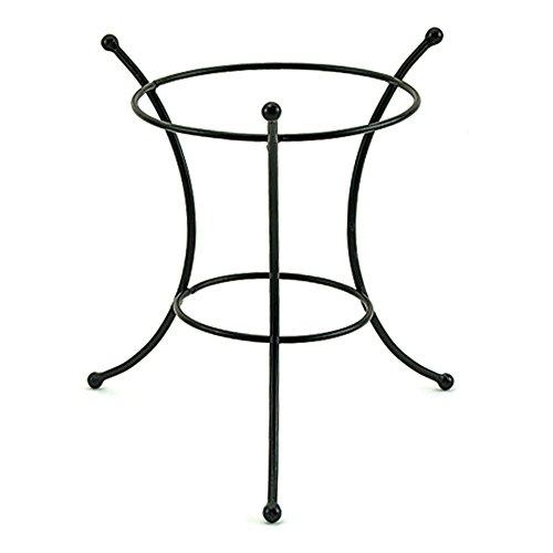 Achla Designs 9 1/2-Inch Ring Gazing Globe Ball (Wrought Iron Ball)
