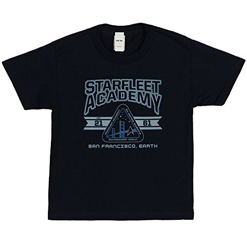 Cadet Athletic Insignia -- Starfleet Academy -- Star Trek Youth T-Shirt, Youth Large (Star Trek For Kids)