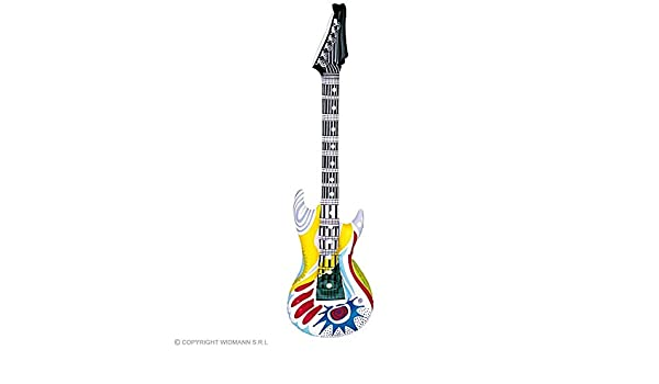 lively moments Guitarra Hinchable Funky Rockstar, Aprox. 105 cm ...