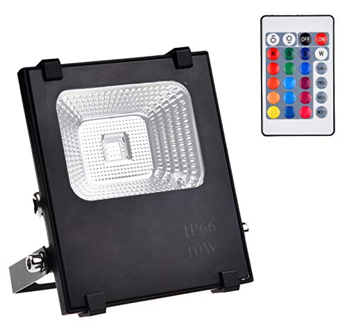 Led 10W Rgb Colour Changing Flood Light in US - 3