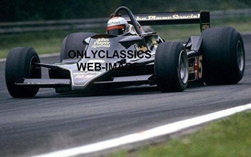 F1 Grand Prix Card - OnlyClassics 1978 MARIO ANDRETTI JOHNNY PLAYER SPECIAL LOTUS 12X18 POSTER GRAND PRIX FORMULA ONE F1