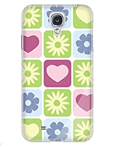 Hearts and Flowers Case for your Galaxy S4