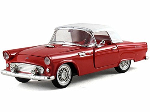 1955 Ford Thunderbird Hard Top, Red - Arko 05511 - 1/32 Scale Diecast Model Toy (Ford Thunderbird Diecast Model)