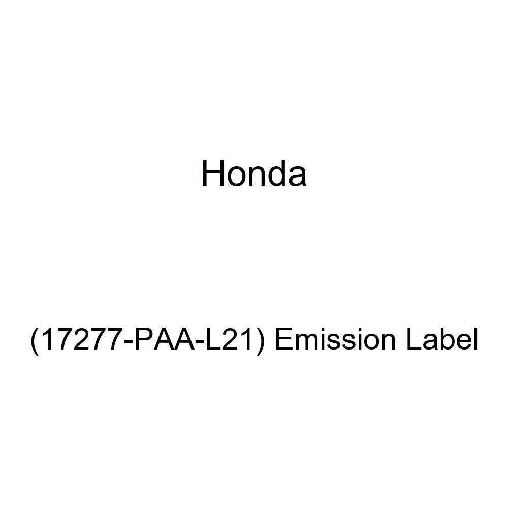 Genuine Honda 17277-PAA-L21 Emission Label