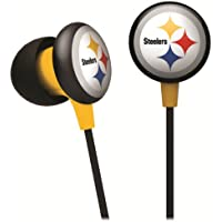 Favor iHip NFF10200PS NFL Pittsburgh Steelers Mini Ear Buds- Black/Yellow offer