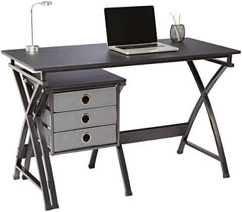 Reviewed: Brenton Studio X-Cross 48″W Desk and File Set