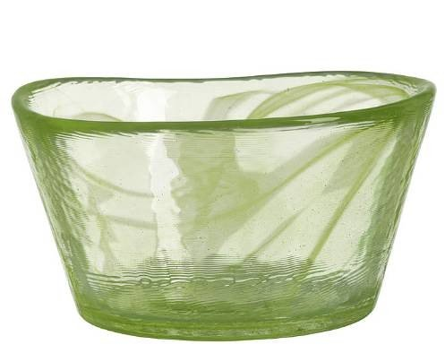 - Kosta Boda Mine Bowl, Lime Green