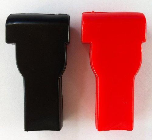 Deka Pack - STRAIGHT TERMI. PROTECTOR BOOT -- 4-6 GA. RED/BLK