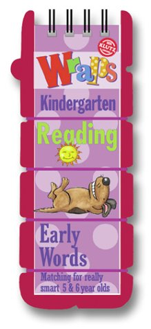Wraps Reading: Kindergarten : Early Words Matching for Really Smart 5 & 6 Year Olds