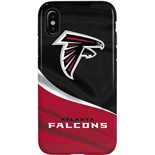 - Skinit Atlanta Falcons Case for iPhone Xs Max - Officially Licensed NFL Phone Case - Dual Layer Construction & Scratch Resistant Finish