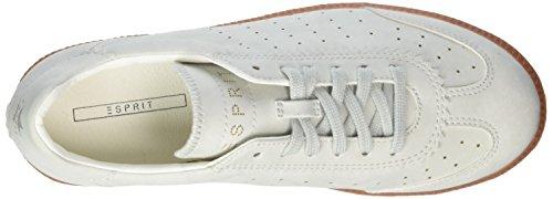 Esprit Basses Trainee 050 Gris Sneakers Grey pastel Femme OwFpOrq