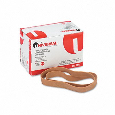 Universal 01107 107 Size Rubber Bands 40 Per Pack Office