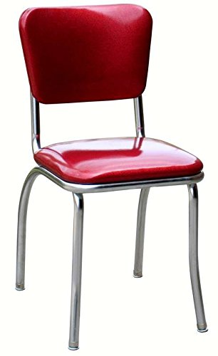 Exceptionnel Richardson Seating Corp 4110ZBU 4110 Diner Chair  Zodiac Burgandy  With 1  In. Pulled