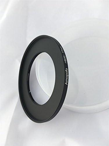 Anello adattatore per filtri per obiettivi a vite per Hasselblad HB50-77mm con attacco a baionetta