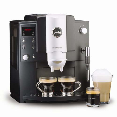 Jura-Capresso 13187 Impressa E8 Super-Automatic Espresso Machine, Black