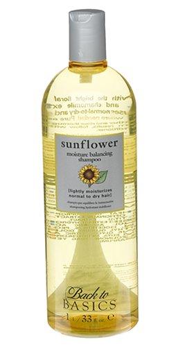 Back to Basics Sunflower Moisture-Infusing Shampoo 33 Ounces ()