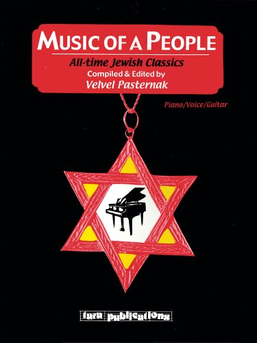 MUSIC OF A PEOPLE ALL-TIME JEWISH CLASSICS P/V/G SOFTCOVER