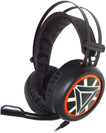 快適でポータブル ブラックゲームヘッドフォン通気性の快適さを身に着けるためにカラフルなライトヘッドマウント調節可能なイヤーパッドは耳を圧迫しません CHENGCHONG
