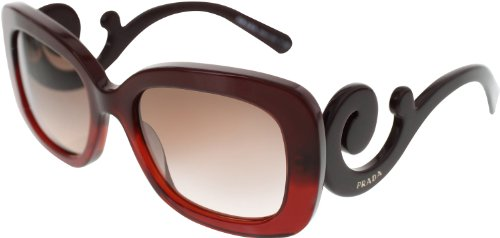 Prada Women's SPR270 Sunglasses, - Prada Red