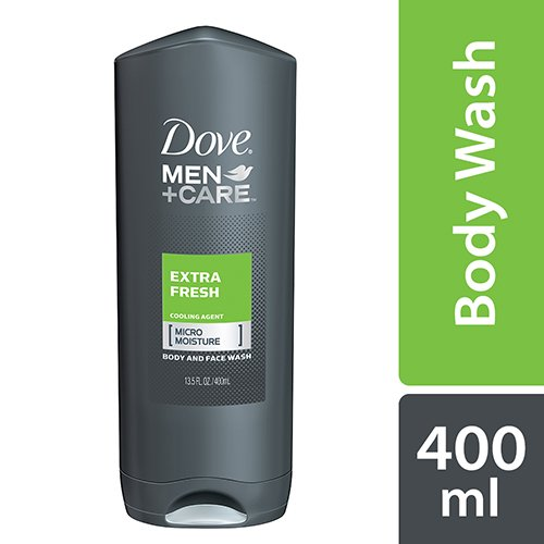 Amazon Com Dove For Men Extra Fresh Body And Face Wash 400 Ml Beauty