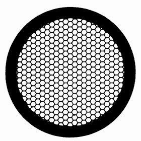 Gilder Hexagonal Mesh Grid Nickel, 100 Mesh, 250 µm , 100/VL by Electron Microscopy Sciences