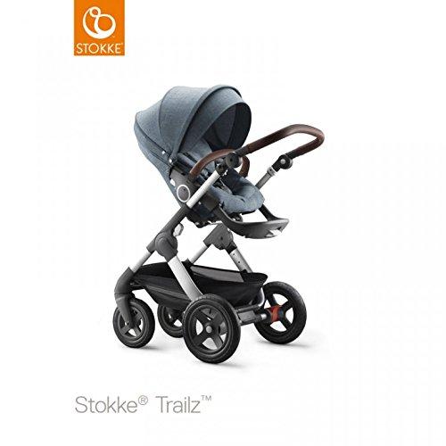 Stokke Trailz Stroller - Nordic Blue Exclusive Edition