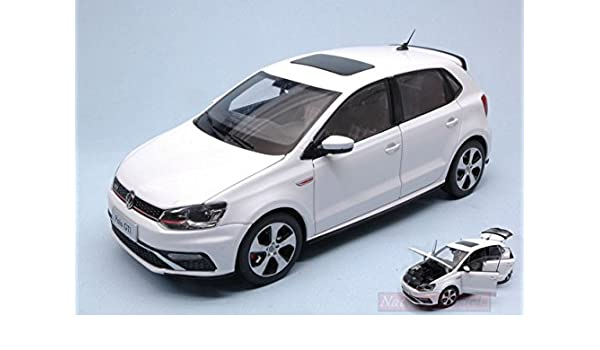 PAUDI MODEL PD2339W VW NEW POLO GTI 2015 WHITE 1:18 MODELLINO DIE ...