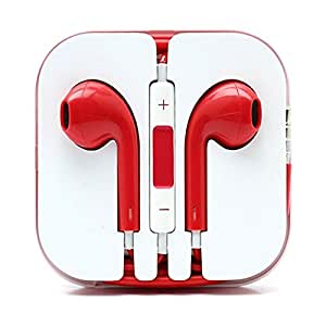 Supreme Quality iPad 4,iPad Mini and iphone 5 Headphones / Earphones With Microphone Mic and Voulme Control Remote (REDD), [Importado de UK]