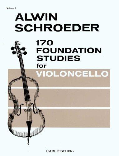 170 Foundation Studies for Violoncello (Cello), Vol. 2