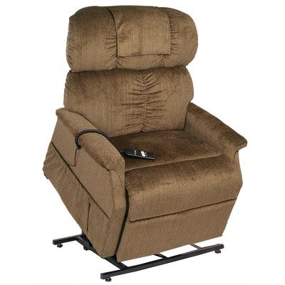 PR-501M-26D Comforter Extra Wide Medium-26 Dual Motor Lift Chair - with Head Pillow Fabric: ()