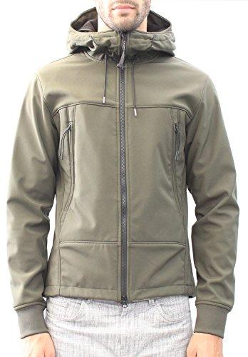 Goggle Company Militare Sweatshirt Taglia Jacket 46 Verde Shell Soft C p aIwq5Ax