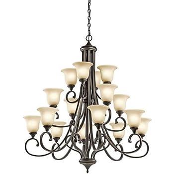 Kichler 43192oz monroe chandelier 16 light olde bronze amazon kichler 43192oz monroe chandelier 16 light olde bronze aloadofball Images