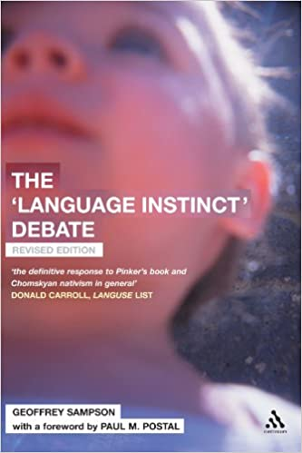 Book Review: The Language Instinct Debate by Geoffrey Sampson