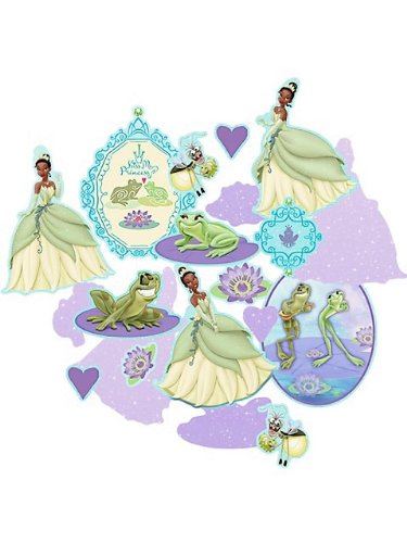 Hallmark - Disney Princess and the Frog Confetti - Multi-colored