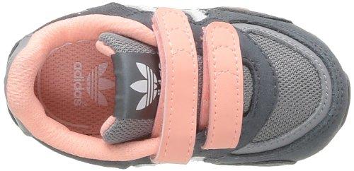 adidas Zx 850 Cf I - Zapatillas Unisex bebé Blanco-Gris-Rosa