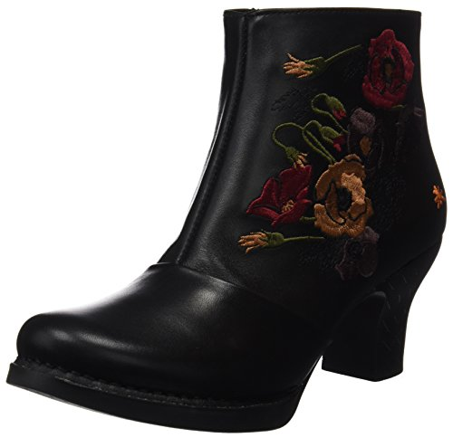 Art Ladies Harlem Short Boots Nero (stella Nera 1063)