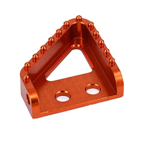 Rear Brake Pedal Step Tip For KTM 125 250 300 350 400 450 500 505 525 530 (Anodized Rear Brake Pedal)