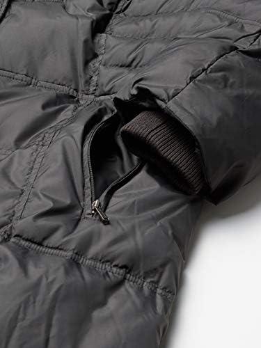 LONDON FOG London Fog Women's Plus-Size Mid-Length Faux-Fur Collar Down Coat Hood