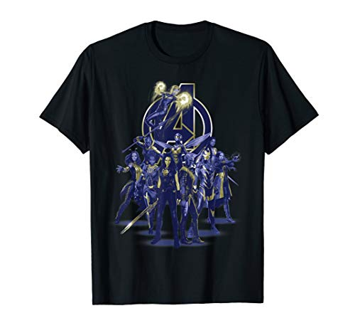 Marvel Avengers: Endgame Female Super Heroes   T-Shirt -
