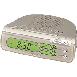 Sony ICF-C275RC Dream Machine Auto Time-Setting FM/AM Clock Radio (Discontinued by Manufacturer)