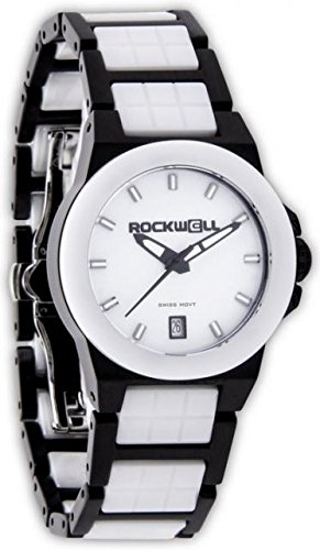 Rockwell Time Women's Katelynn Watch, Black/White Ceramic by Rockwell Time